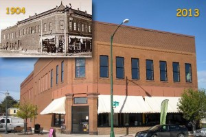 Butler Building. Now and Then.