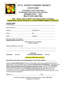 Farmers Market Application Click to Download