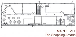 Main Level Plans for the Butler Building