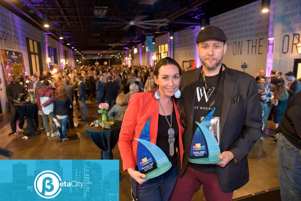 Brooke Hall and Justin Allen, Beta City Awards, Light City