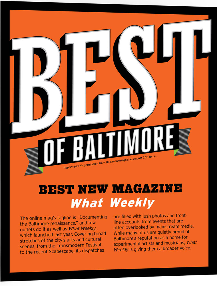 What Weekly Best of Baltimore