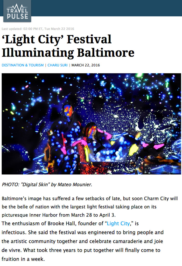 Brooke Hall Founder of Light City Baltimore