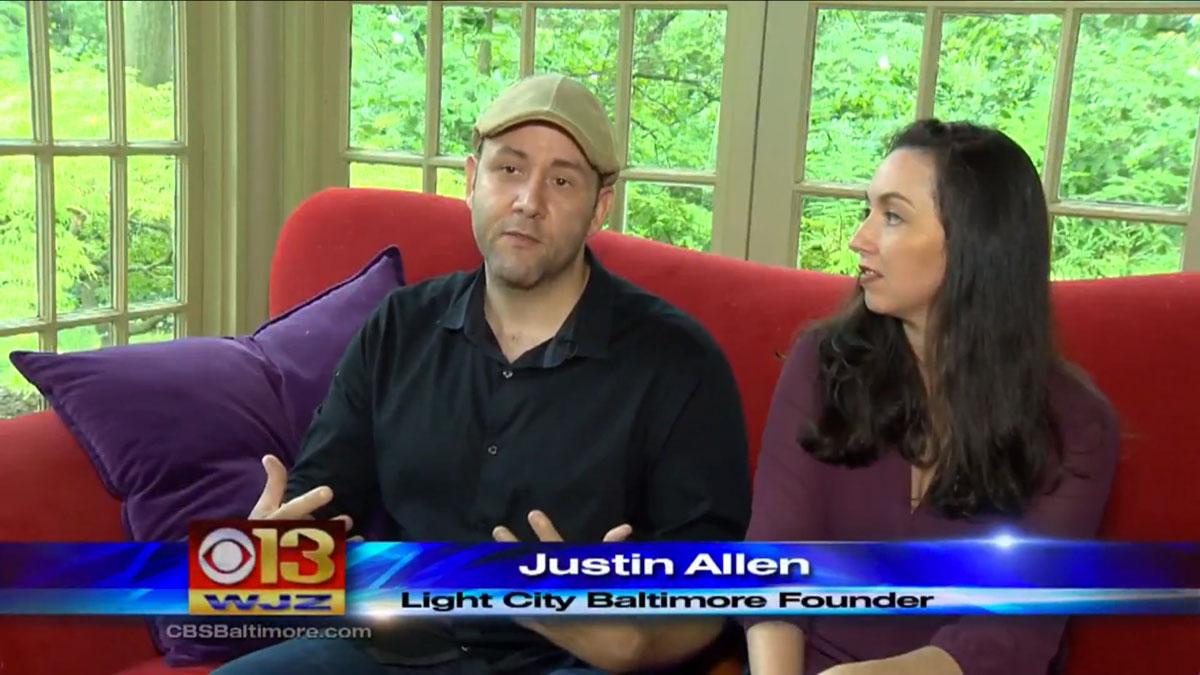 Light City CBS Founders Justin Allen Brooke Hall