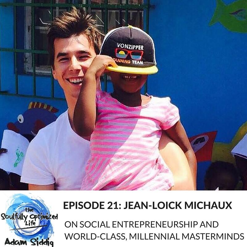 Jean-Loïck Michaud Social Entrepreneurship