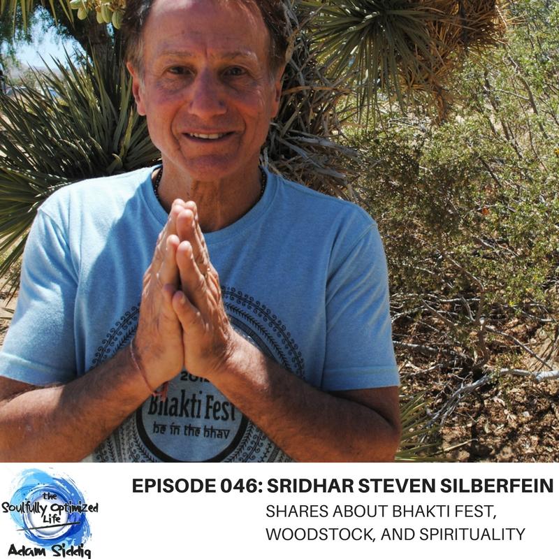 Bhakti Fest Sridhar Steven Silberfein