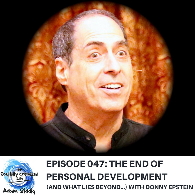 Donny Epstein Personal Development