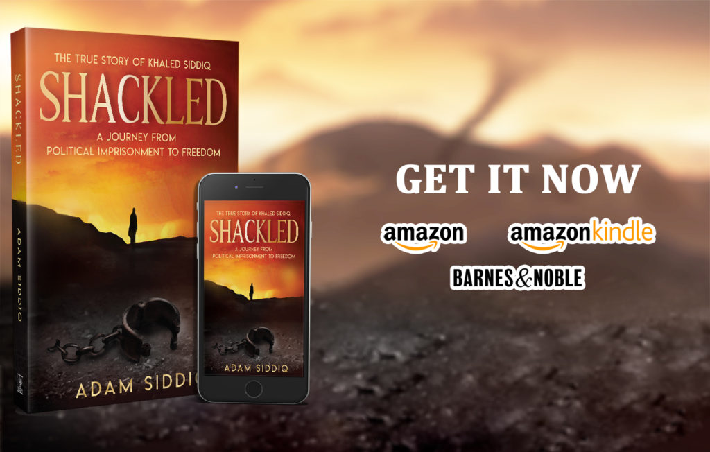 Adam Siddiq Author of SHACKLED