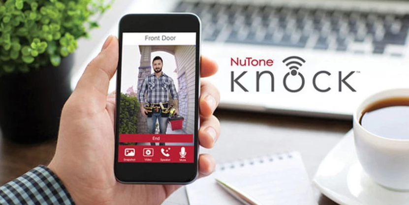 Protect Your Home and Packages with the Knock Video Doorbell from NuTone