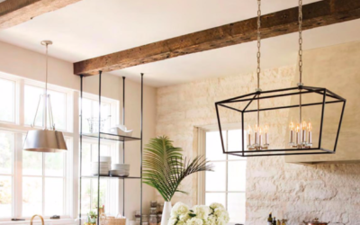 7 Modern Farmhouse Light Fixtures that Will Transform Your Space