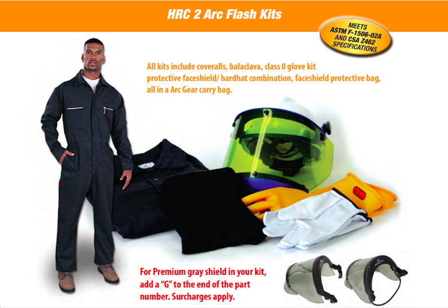 arc flash kit pmmi