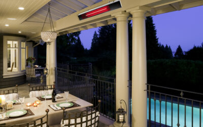 Extend Your Patio Season with Dimplex's Outdoor Heaters