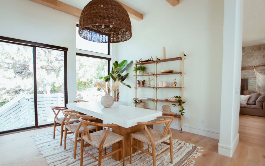 5 Rattan & Woven Light Fixtures We're Loving Right Now