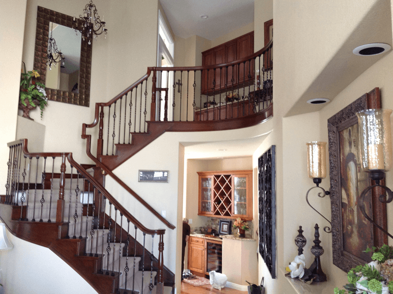 Restained Oak Staircase