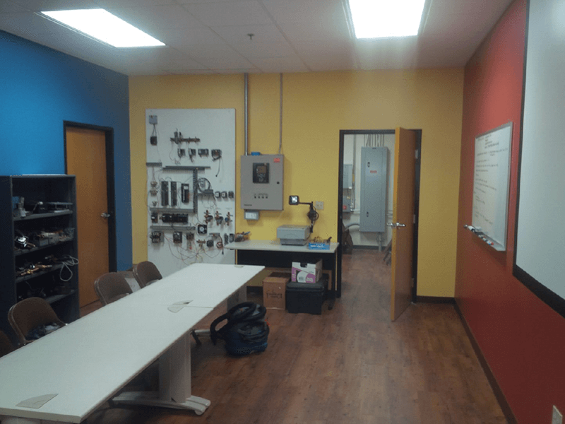 Industrial Training Room