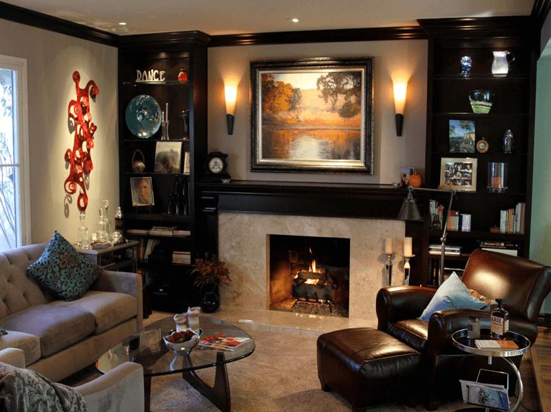 Cozy TV-Den Area