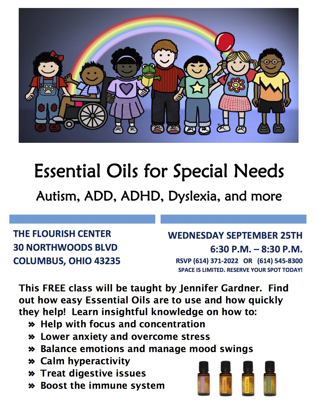 Essential Oils for Special Needs Class Sept 25 (1)