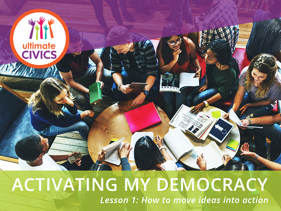 Activating My Democracy Lesson 1 Cover Image
