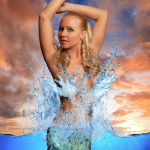 beautiful Sirena mermaid melissa photo real life little mermaid