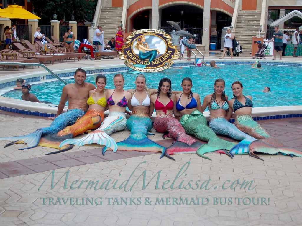 group pool tails mercrew web