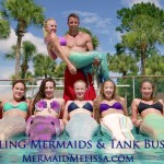 mermaid bus mermaid tank tour mermaid troupe photo shoot