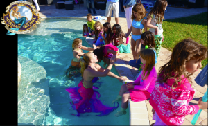 mermaid melissa pool party mermaids