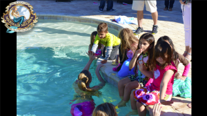 mermaid melissa pool party mermaids kids children