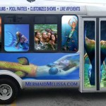mermaid melissa company bus mermaids mermen