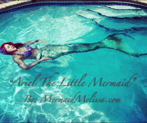 mermaid melissa real life ariel little mermaid web