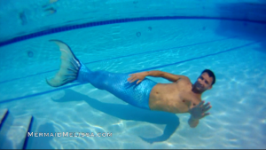 underwater performer professional merman