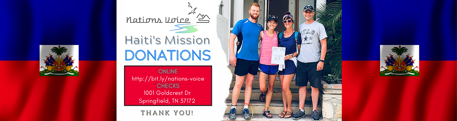 Nations Voice Haiti Mission