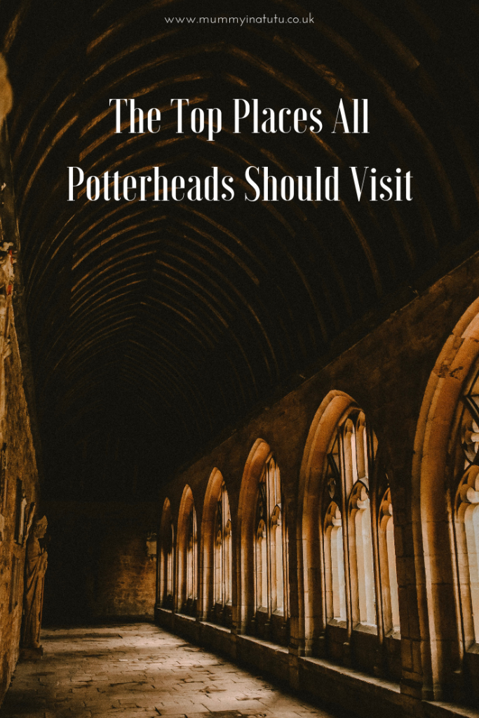 The arches of hogwarts
