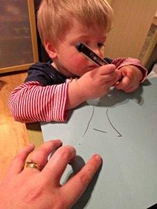 Helping Mummy Work