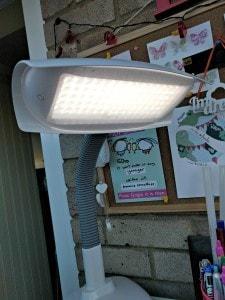 The Lumie Desklamp's Bright Lights