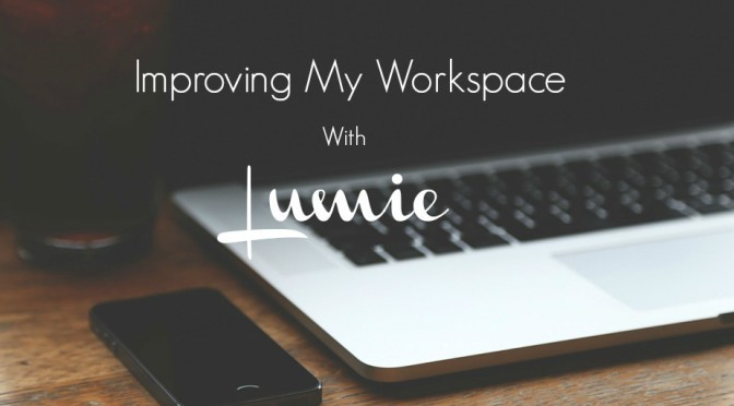 Improving My Workspace with Lumie