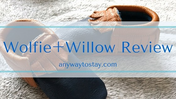 Amazing Moccasins from Wolfie + Willow