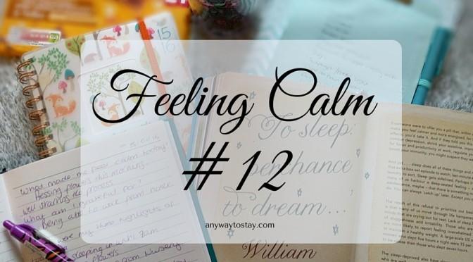 Feeling Calm #12