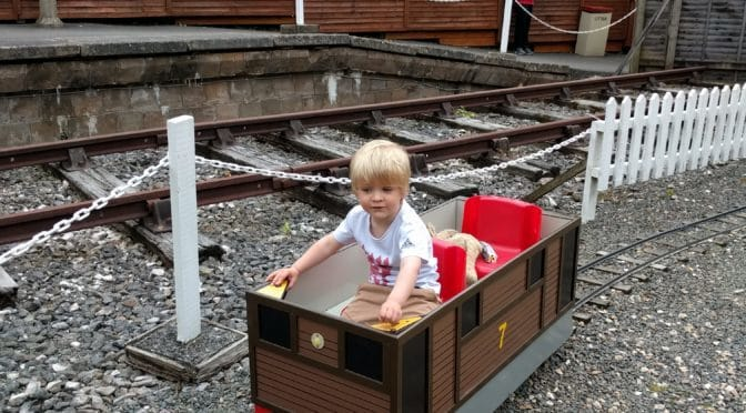 Our Morning at the Devon Railway Centre