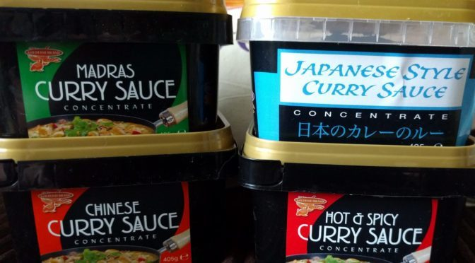 Goldfish Curry Sauce