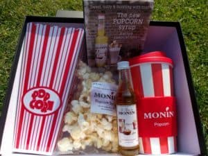 Our Monin Popcorn Pack