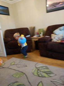 Action balloon shot