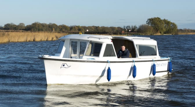 Enjoy a Day on the Broads with Herbert Woods