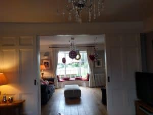 Just one of the rooms at Beechwood House