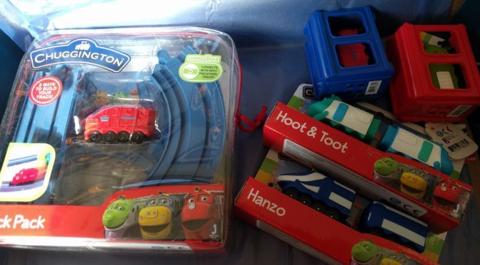Our Delivery of New Chuggington Toys