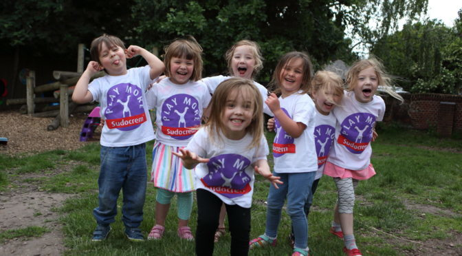 The Sudocrem Play More Campaign