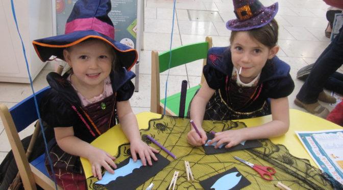 Spooktastic, family fun at intu Chapelfield this half term