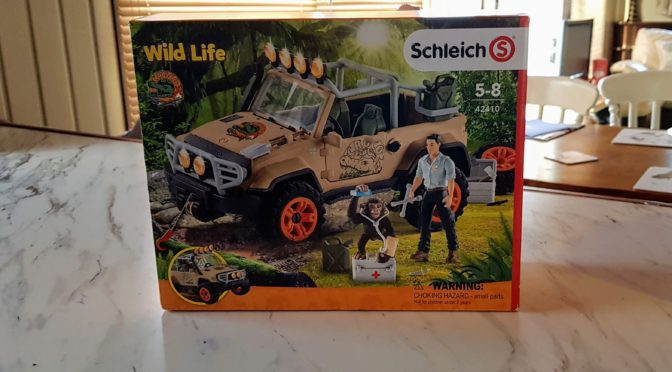 Schleich Wild Life 4 x 4 Vehicle – Review