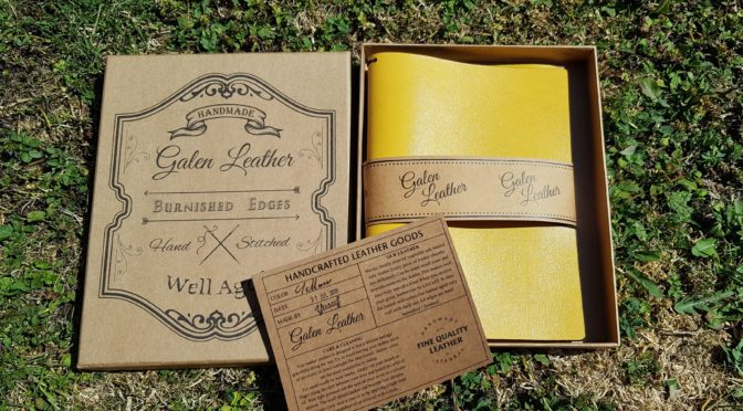 Traveller's Notebook from Galen Leather – Review