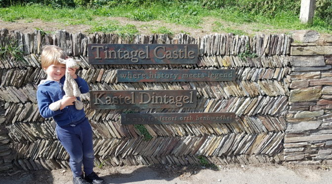 Our Visit to Tintagel Castle