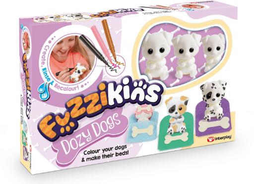 Win A Fuzzikins Dozy Dogs set!