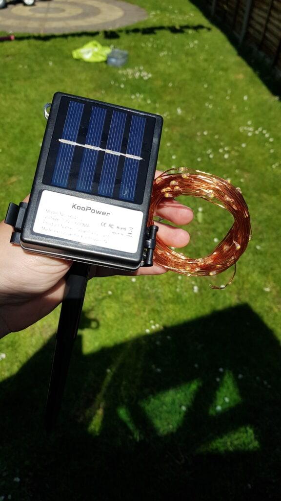 KooPower Solar Lights